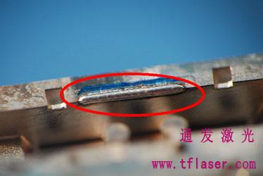 精密塑jiao模具激光补焊