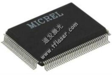 电子IC芯片塑料激光打标